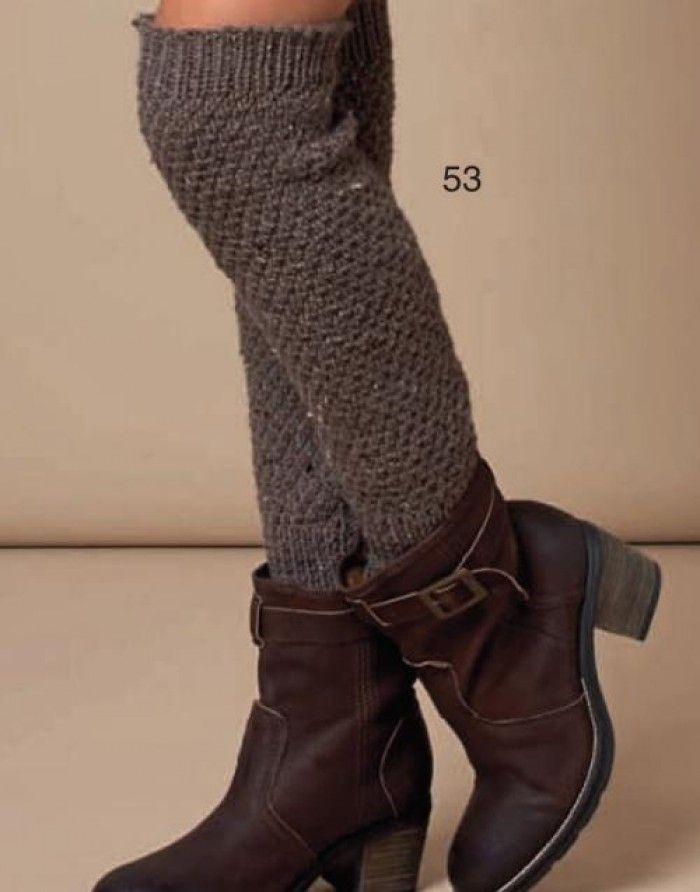 Stoere beenwarmers. Leuk om zelf te maken voor de winter!