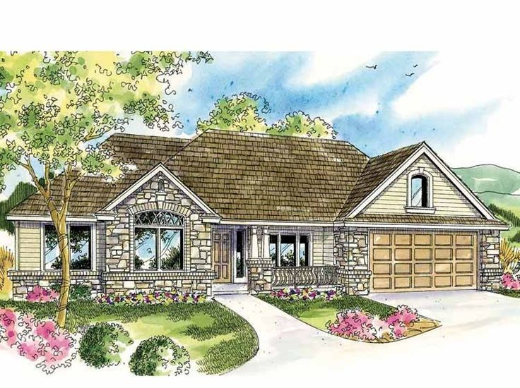 European House Plan With 2828 Square Feet And 3 Bedrooms S
