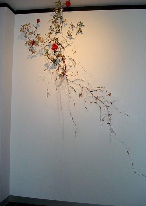 Valerie Hegarty Progressive Art Collection: Rosebush for Gordon Matta Clark (2008)