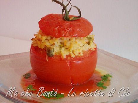 Pomodori farciti al forno. #ricetta di @wondercle