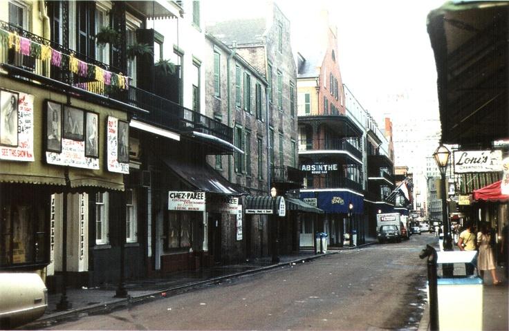 Bourbon Street, 1977