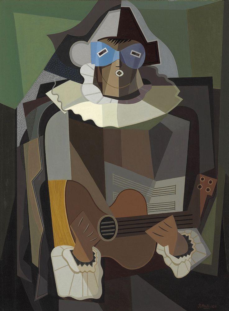 'El cantor' (1934) by Emilio Pettoruti