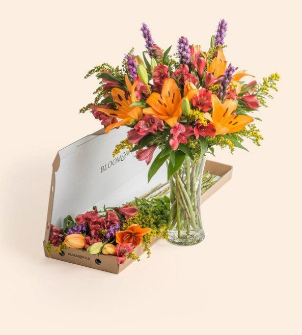 """Pin for Later: 7 Floral Bouquets That Won't Cost You More Than £25  Bloom & Wild """"The Zara"""" Letterbox Flowers (£23, plus free delivery)"""