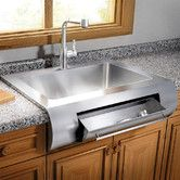 Julien Classic X Farmhouse Stainless Steel Single Bowl Kitchen Sink