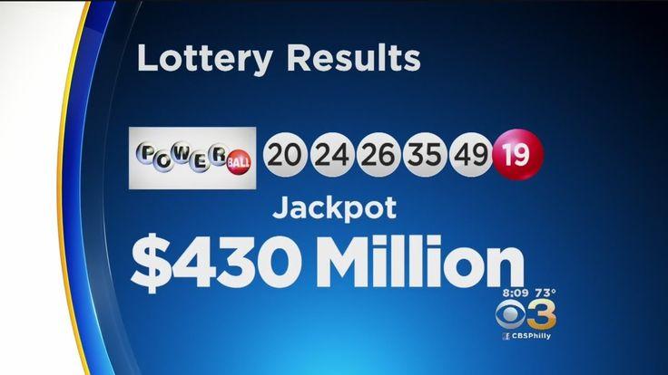 cool Powerball Jackpot Rolls To $430M