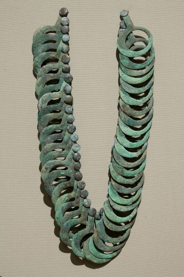 Bronze Necklace with Hanging Pendants | Cleveland Museum of Art