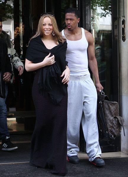 Mariah Carey Photos - Mariah Carey, Nick Cannon And The Twins Head Out Of Paris - Zimbio