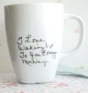 Anniversary Gift For Husband Personalized Coffee Mug   Custom Tea Cup   Unique Coffee Cup
