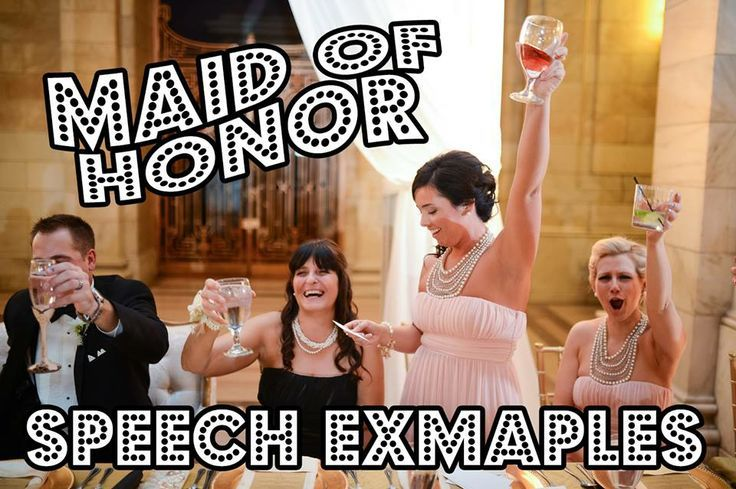 Best Man & Maid of Honor Speeches Written by Professional Comedians