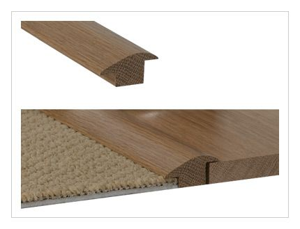 Carpet Inset in Wood Flooring | solid oak 20mm wood to carpet r section solid oak wood to carpet r ...