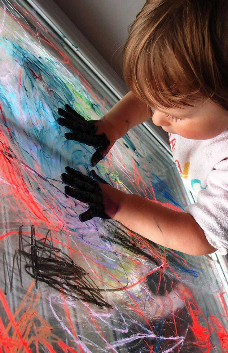 Malowanie - nie po ścianie ale w pionie :)   Raz pod wozem raz na wozie czyli bajeczne macierzyństwo....