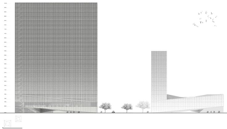 Intercontinental Hotel & Business Center Competition Proposal / Luis Banazol (18)