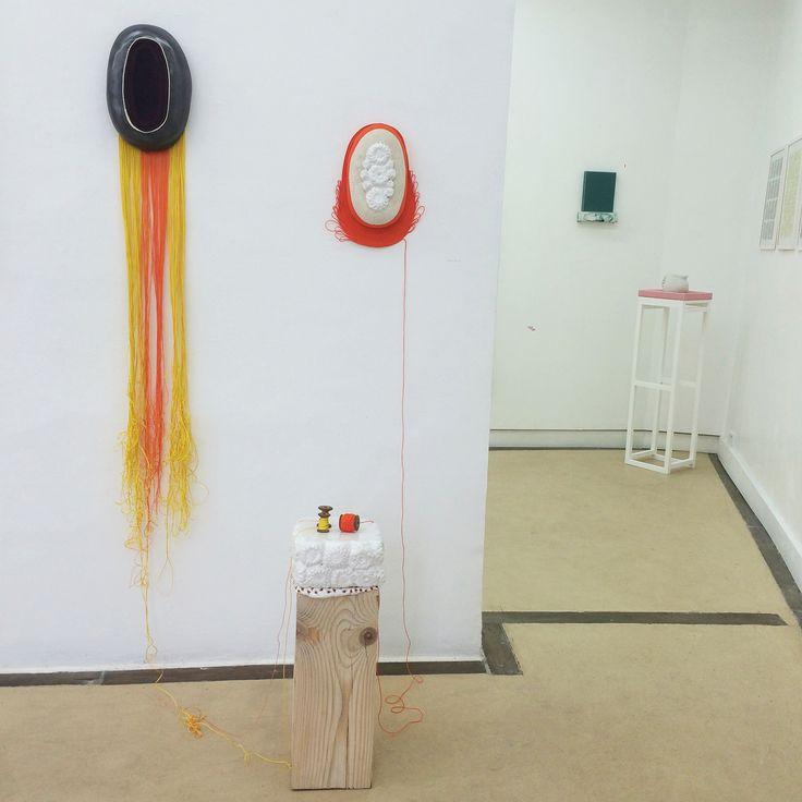 """Sophie Truant """"Généalogie"""", 2016 Proposition d'accrochage. galerie du haut pavé, Paris"""