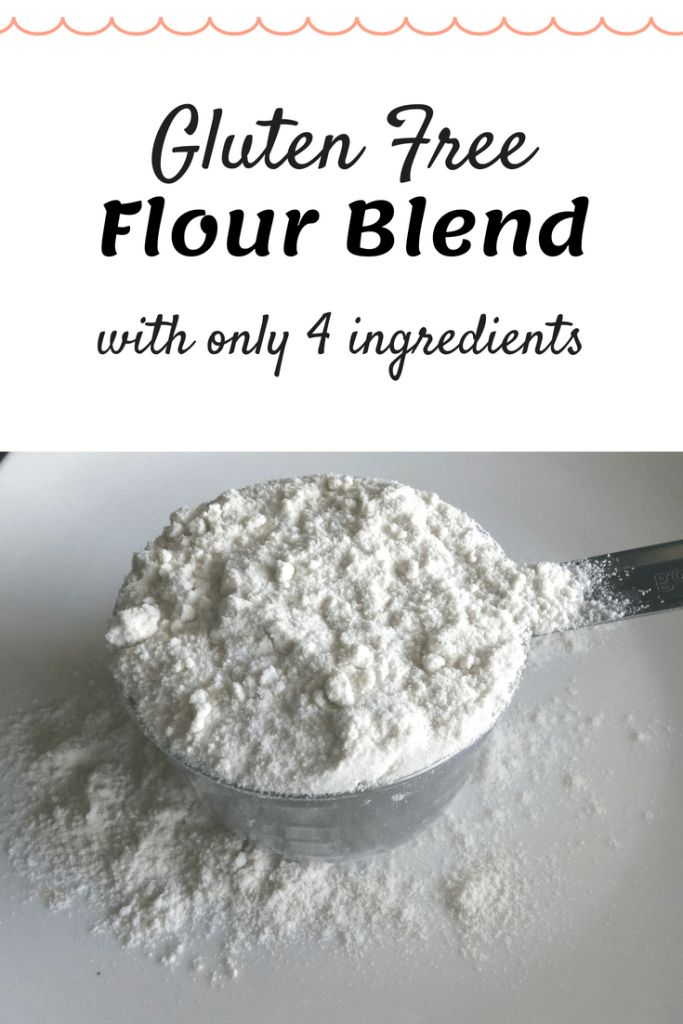 Simple Gluten Free Flour Blend