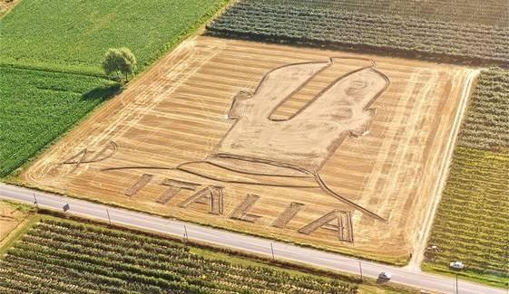 Mario Balotelli Crop Circle Mysteriously Appears In Verona