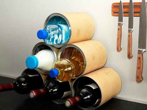 Les 25 meilleures id es concernant casiers bouteilles faire soi m me sur - Fabriquer casier bouteille ...