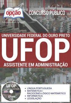 Apostila Concurso UFOP 2017 Assistente em Administração