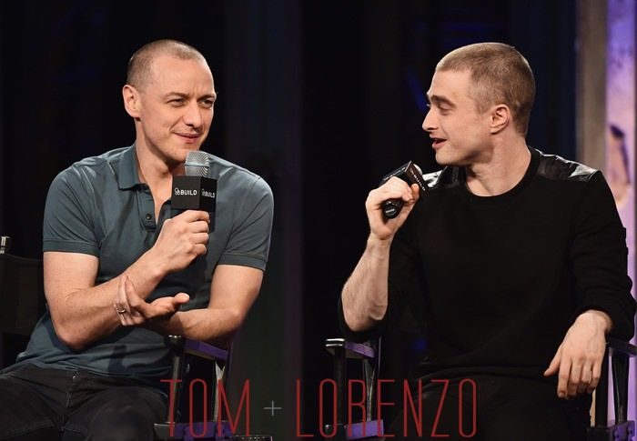 Love his wife but I'd still eat James with a spoon.  {Daniel Radcliffe + James McAvoy - Victor Frankenstein AOL Build Speaker Series- Tom & Lorenzo Site