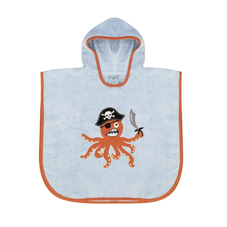 Gym Towel Tk Maxx: Octopus AND Pirates Fascinate Kids Childrens Poncho Towel