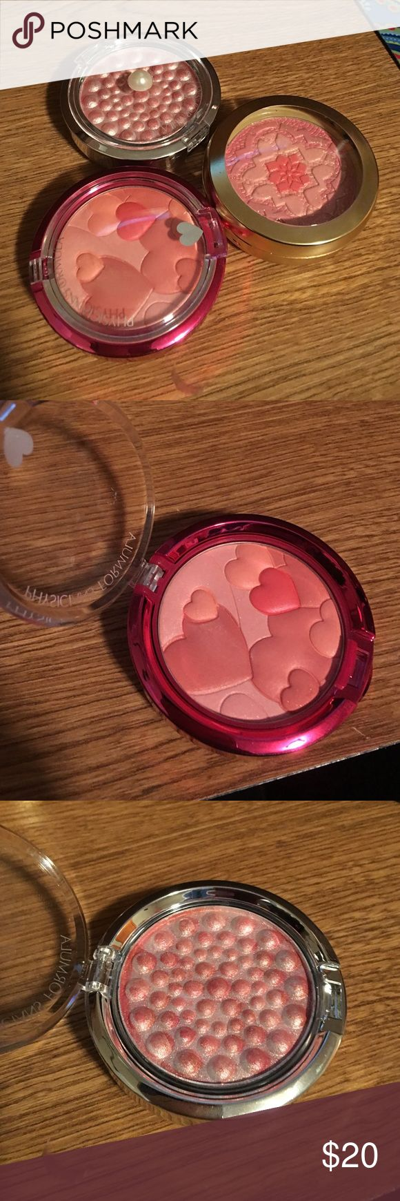 Physicians Formula blushes I have a ton of blushes and I don't use these. Used like once... $20 for all three...no trades please! Physicians Formula Makeup Blush
