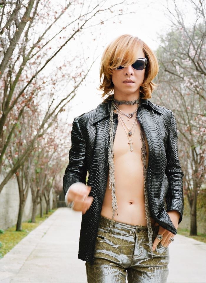 Yoshiki - X Japan for Vogue Magazine