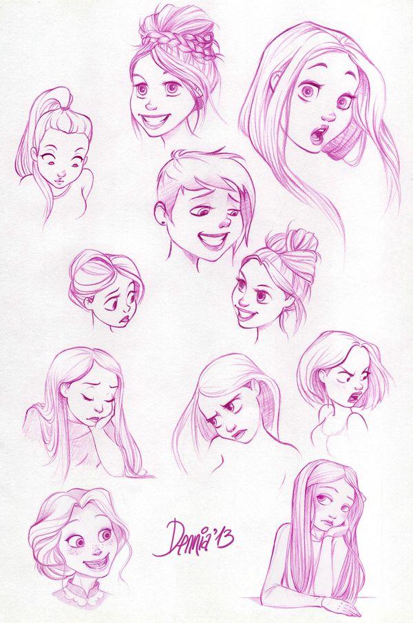 Disney Character Design Internship : Best ideas about disney female characters on pinterest