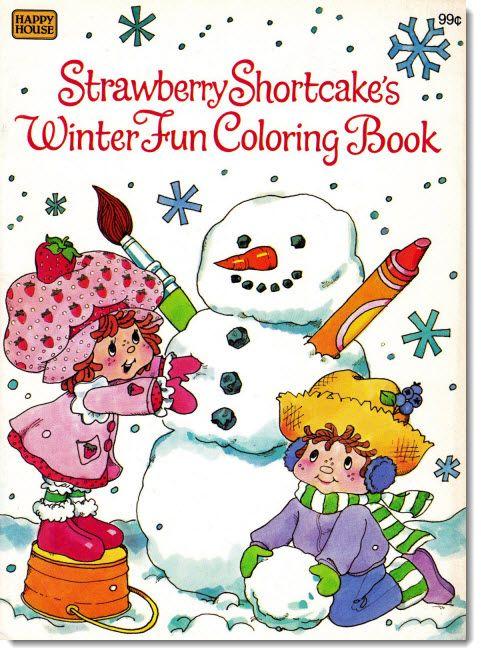 Раскраски Принцесса Клубничка Зима. Новый год и Рождество