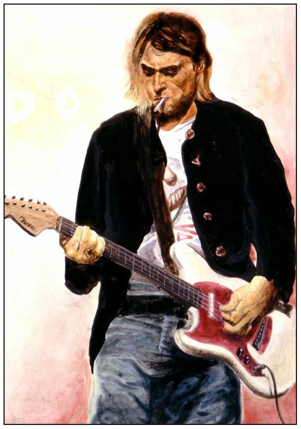 cobain. My first love