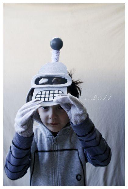 Bender costume from Futurama
