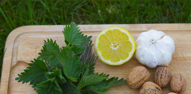 Dejlig pesto! Billigt alternativ til almindelig pesto og bedre i smagen end ruccola.