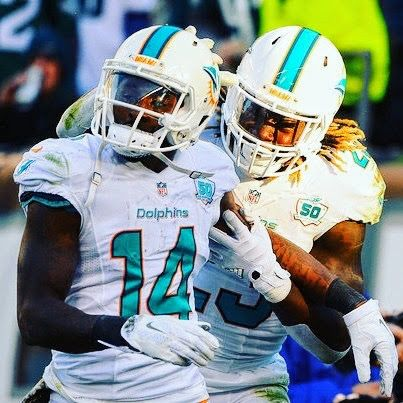 WR Jarvis Landry and RB Jay Ajayi were added to the 2017 NFL Pro Bowl in Orlando, FLA