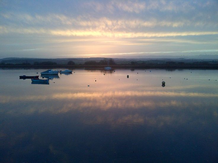 Watery sunset 13.12.13