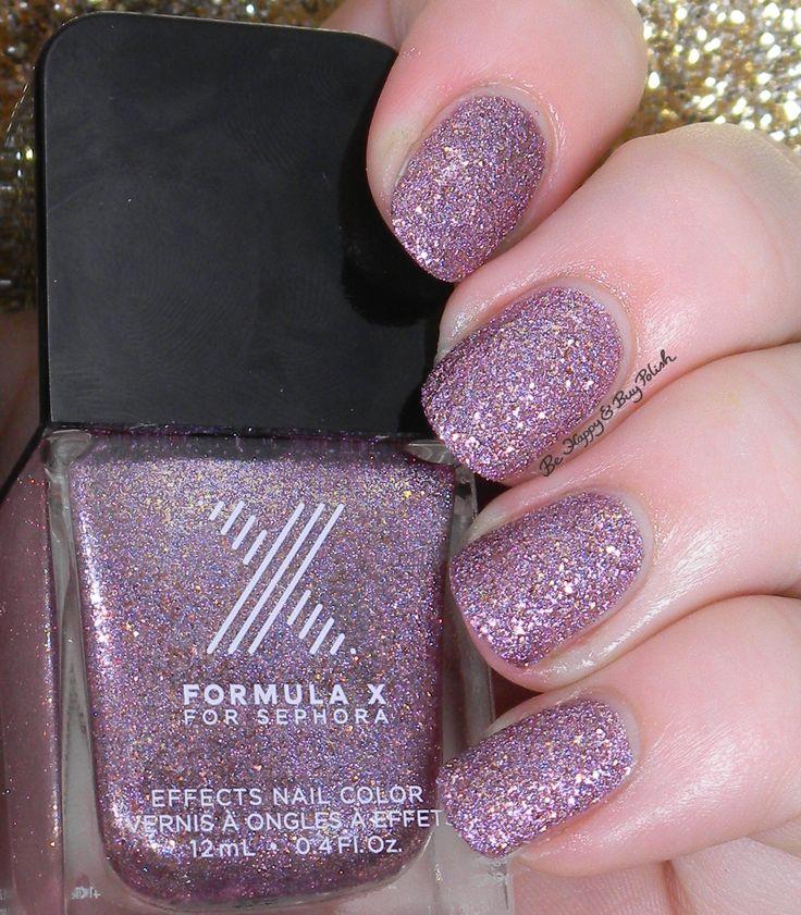 Sephora Formula X Intergalactic | Be Happy And Buy Polish http://behappyandbuypolish.com/2015/01/16/sephora-formula-x-textured-polishes/