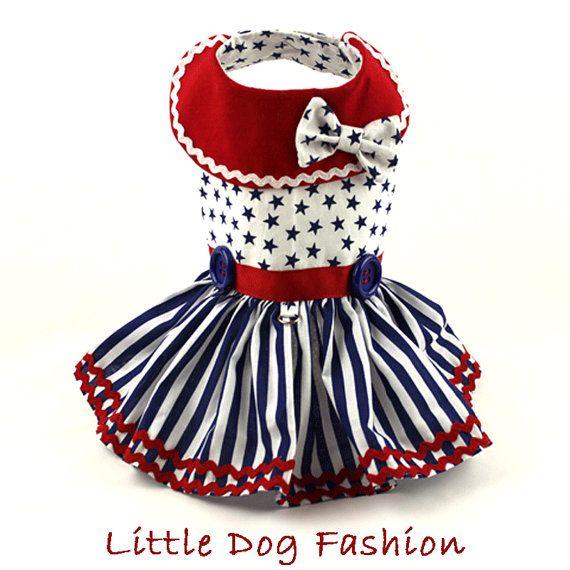 Perro vestido de vestidos arnés del perro por LittleDogFashion