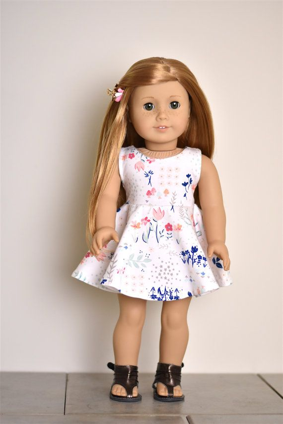 Dress for  American Girl doll Clothes by EliteDollWorld on Etsy