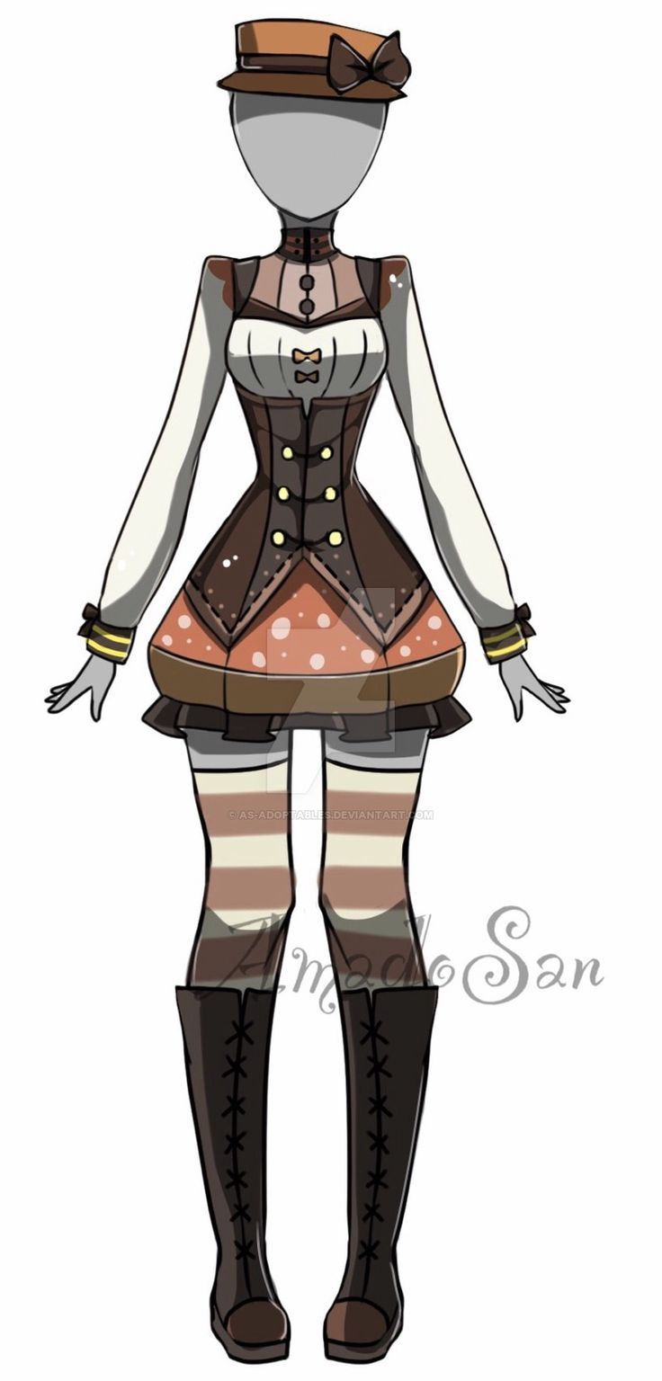 Victorian adoptable outfit CLOSED by AS-Adoptables.deviantart.com on @DeviantArt