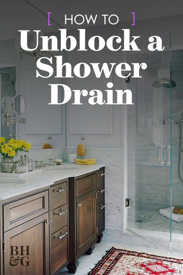 5 Simple Ways To Unclog Your Shower Drain House Cleaning Tips Cleaning Hacks Shower Drain