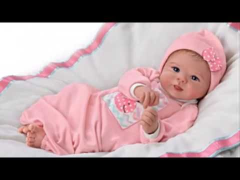 """Little Squirt"" Lifelike Baby Girl Doll"