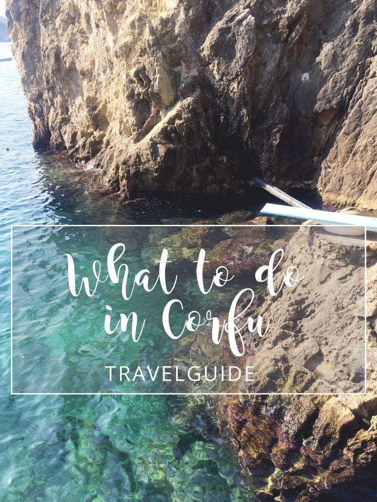 What to do in Corfu - A short Travelguide to Corfu Island by Jolimanoli.