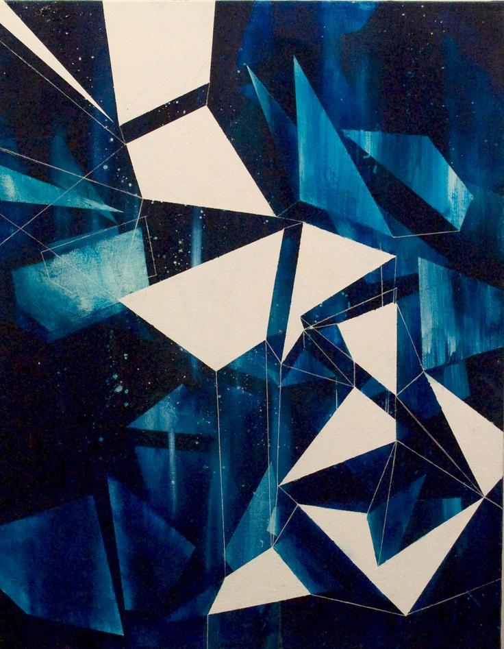 Geometric space, artist rogue rapidfire