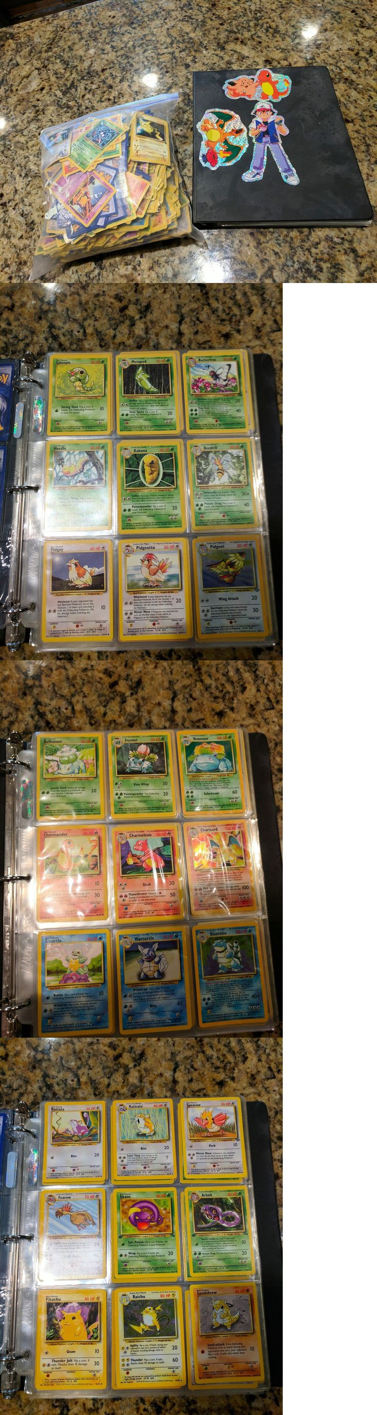 Pok mon Complete Sets 104046: Complete Set Of The Original 151 Pokemon Cards With Duplicate And 100+ Extras -> BUY IT NOW ONLY: $900 on eBay!
