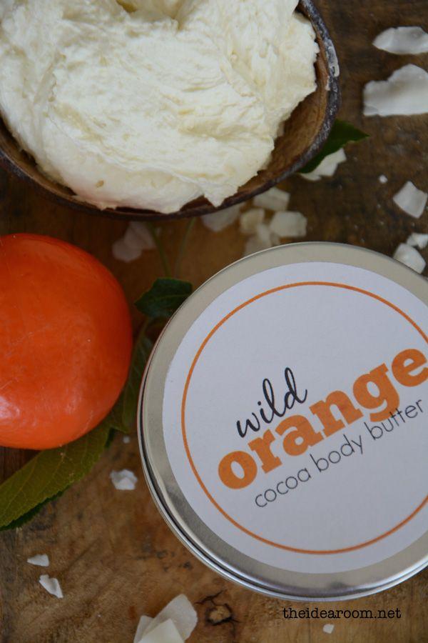 DIY Orange Cocoa Body Butter
