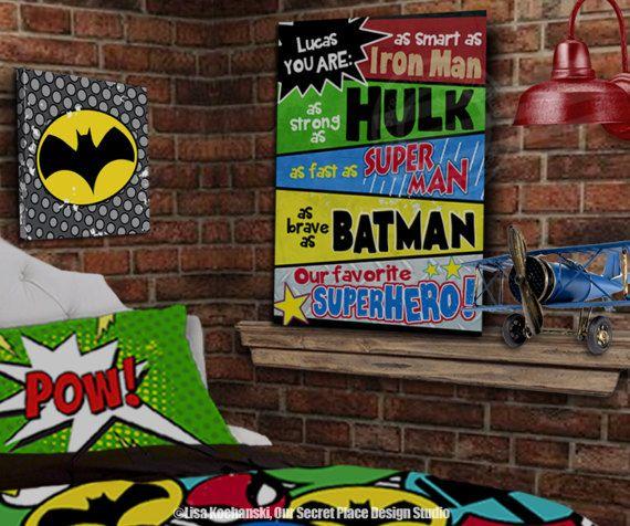 Superhero Wall Art 25+ best ideas about childrens comics bedrooms on pinterest