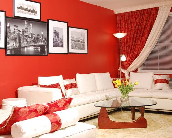 48 samples for black white and red bedroom decorating ideas - Red White Bedroom Designs