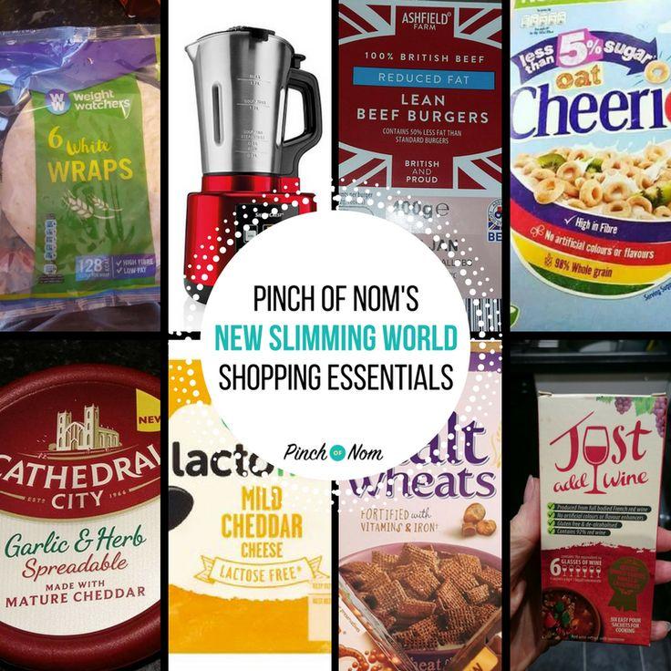 New Slimming World Shopping Essentials – 27/1/16