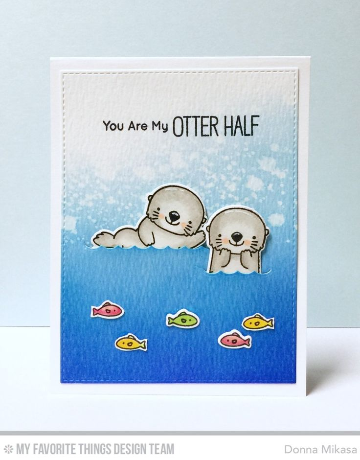 It's Day 4 of My Favorite Things January Release Countdown  and  Birdie Brown brings us Otterly Love You --a set of adorable otters!  ...