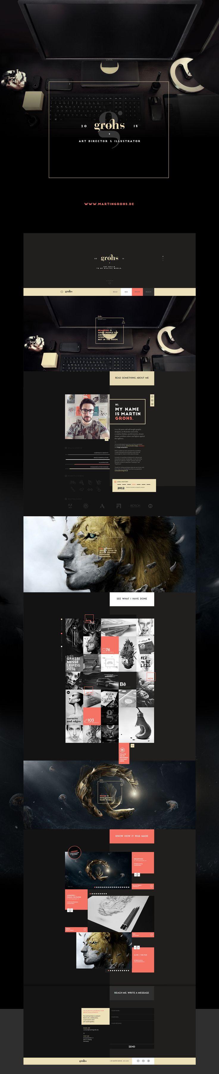 GROHS • WEBSITE • RELAUNCH 2015 on Behance