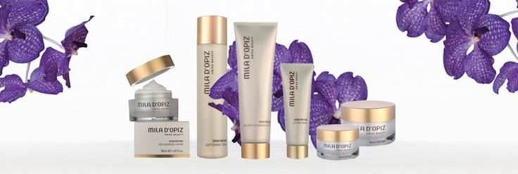 All Mum's will love the Mila Skin Refine Range. A swiss care ritual with ingredients based upon the Swiss Glacier Water and different active peptide complexes. This combination of actives bestows on every skin evenness and smoothness.