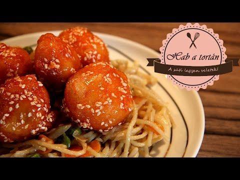 Sherry Étterem- és Kávézólánc - Szezámmagos csirke recept - kínai recept http://www.sherry.hu/kinai-receptek.html chinese recipe