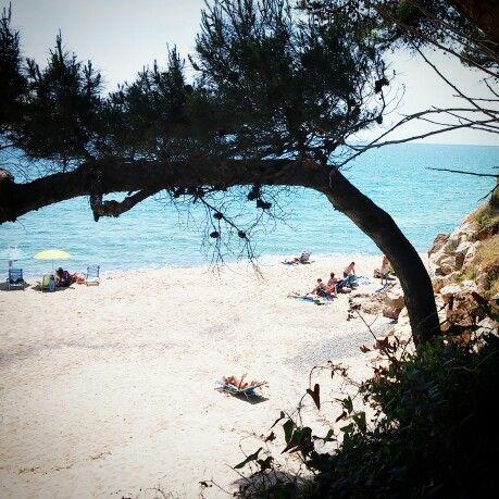 Cala Penyal, Miami Playa, Tarragona, Spain.